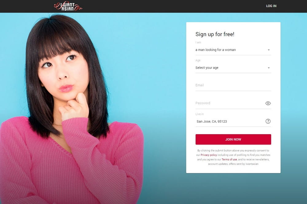 iwantasian sign-up