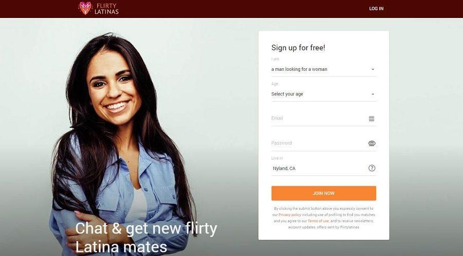 flirtylatinas website