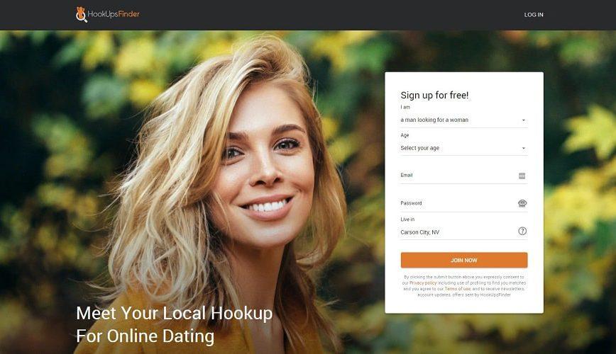hookupsfinder website