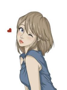 Girlfriends in Anime
